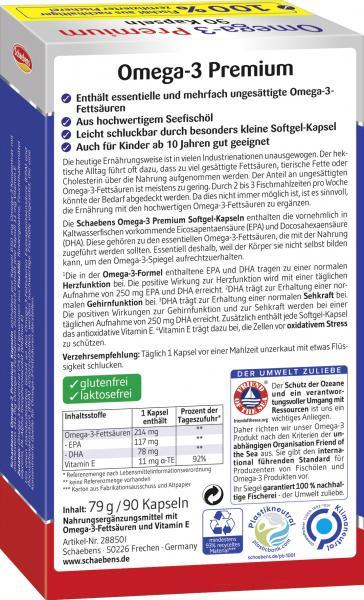 Schaebens Omega-3 Premium