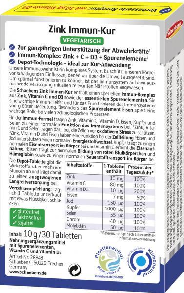 Schaebens Zink+Vitamin C+Spurenelemente