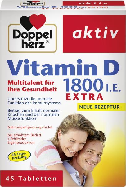 Doppelherz Aktiv Vitamin D 1800 i.E. extra