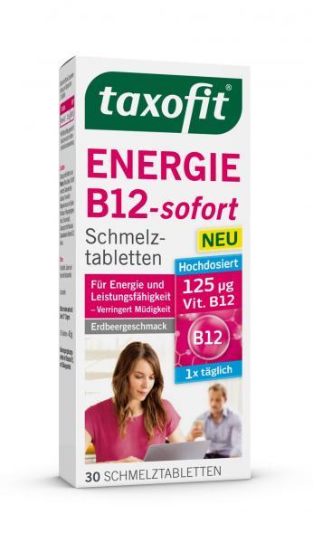 Taxofit Energie B12- sofort Schmelztabletten
