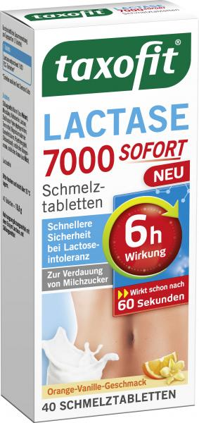 Taxofit Lactase 7000 Sofort Schmelztabletten