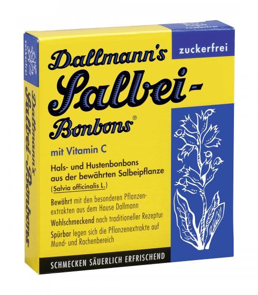 Dallmann's Salbei Bonbons mit Vitamin C zuckerfrei