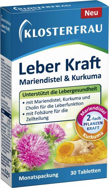 Klosterfrau Leber Kraft Mariendistel & Kurkuma Tabletten