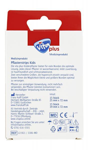 Vita plus Pflasterstrips Kids