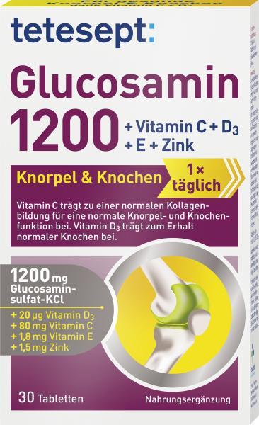 Tetesept Glucosamin 1200 Knorpel & Knochen