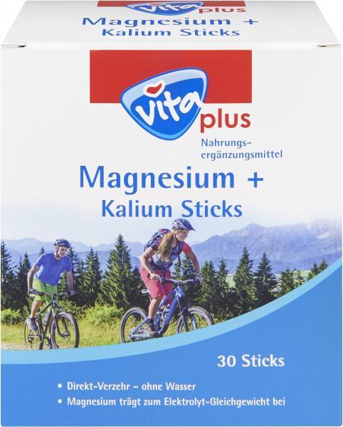 Vita plus Magnesium + Kalium Sticks