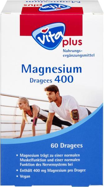 Vita plus Magnesium 400 Dragees