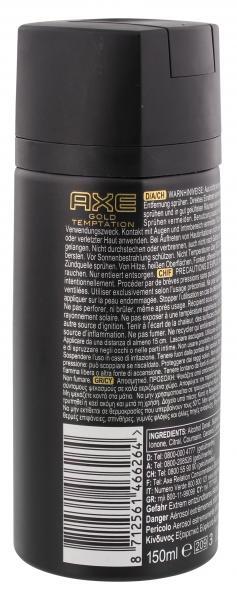 Axe Gold Temptation Deodorant Bodyspray