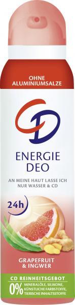 CD Energie Deo Spray Grapefruit & Ingwer
