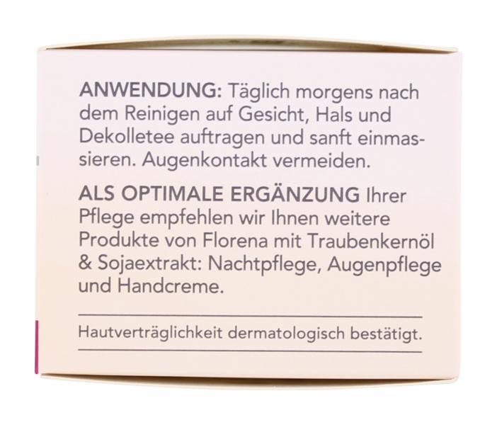Florena Traubenkernöl & Sojaextrakt Tagespflege