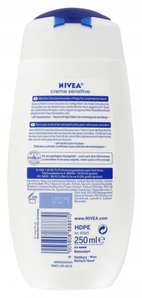 Nivea Creme Sensitive Cremedusche