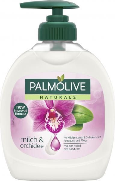 Palmolive Naturals Flüssigseife Milch & Orchidee