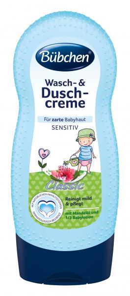 Bübchen Wasch- & Duschcreme Classic für zarte Babyhaut