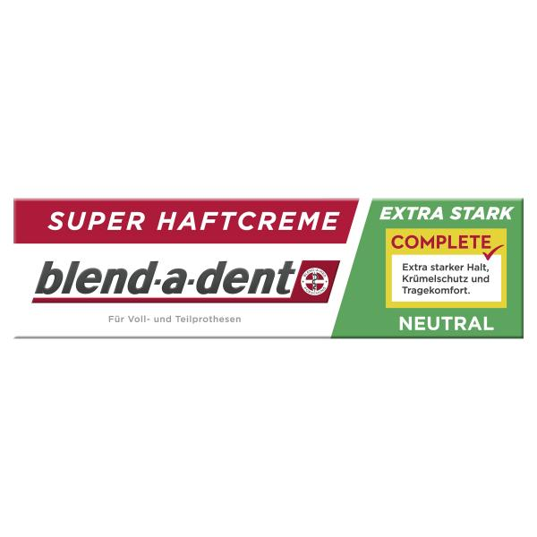 Blend-a-dent Complete Super Haftcreme extra stark neutral