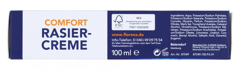 Florena Men Comfort Rasiercreme