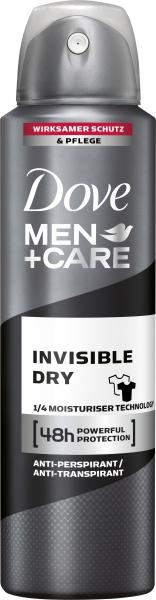 Dove Men+Care Invisible Dry Deo Spray