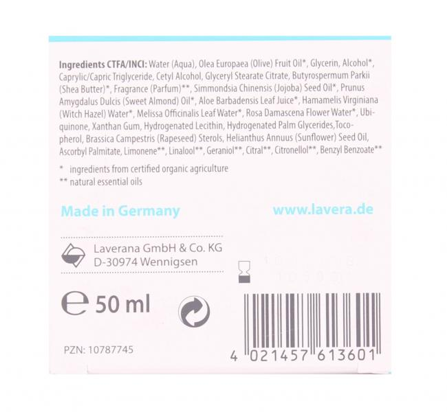 Lavera Basis Sensitiv Anti-Falten Feuchtigkeitscreme