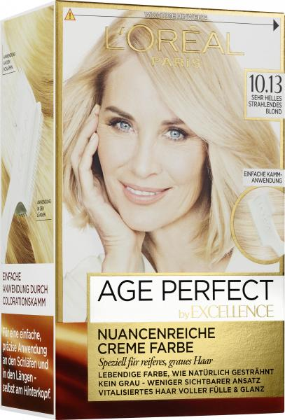 L'Oréal Excellence Age Perfect 10.13 sehr helles strahlendes Blond