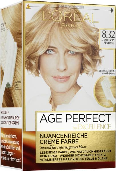 L'Oréal Excellence Age Perfect 8.32 strahlendes Perlblond