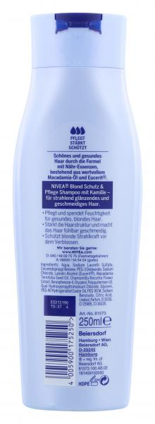 Nivea Blond Schutz & Pflege Pflegeshampoo