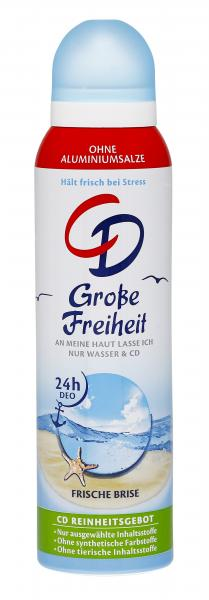 CD Große Freiheit Deo Spray frische Brise