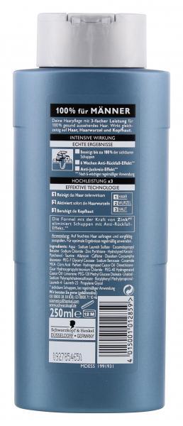 Schwarzkopf Men Shampoo Zink Anti-Schuppen