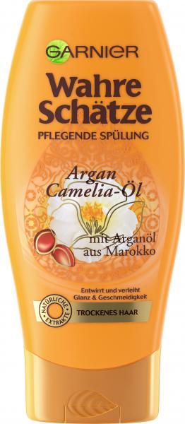 Garnier Wahre Schätze nährende Spülung Argan- und Camelia-Öl