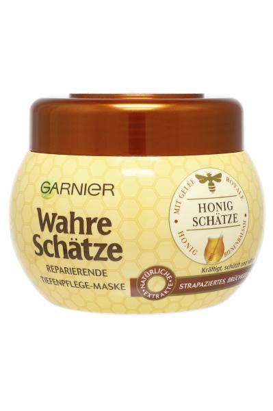 Garnier Wahre Schätze stärkende Tiefenpflege Maske Honig