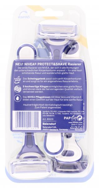 Nivea Protect & Shave Schwinggelenk-Rasierer