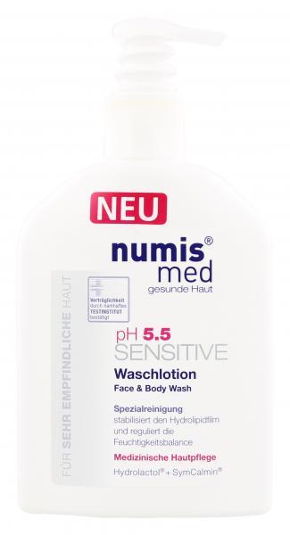 Numis med ph 5,5 Sensitive Waschlotion