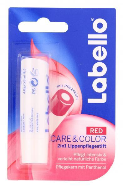 Labello Care & Color red