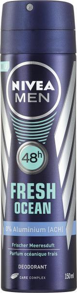 Nivea Men Fresh Ocean Deodorant Spray frischer Meeresduft