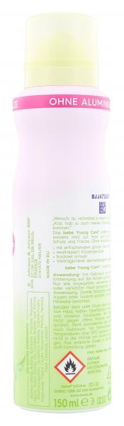 Bebe Young Care Soft & fresh Deo Spray grüner Tee