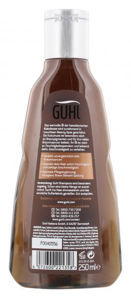 Guhl Shampoo Farbglanz Braun Kukuinuss-Öl