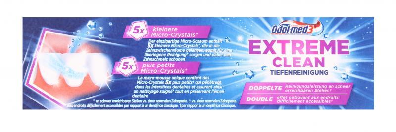 Odol med 3 Extreme Clean Tiefenreinigung