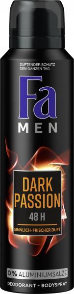 Fa Men Dark Passion Deospray Sensual Fresh