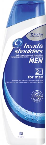 Head & Shoulders Anti-Schuppen Shampoo & Pflegespülung 2in1 for men