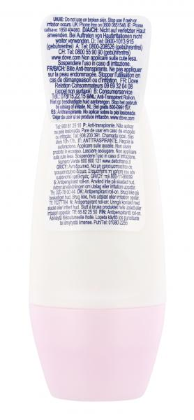 Dove Soft feel Deo Roll-On warm powder scent