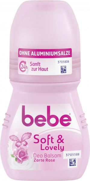 Bebe Young Care Soft & lovely Deo Roll-on zarte Rose