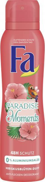 Fa Deodorant Paradise Moments
