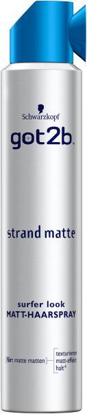 Schwarzkopf got2b Strandmatte Haarspray matt