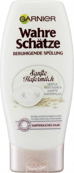 Garnier Wahre Schätze beruhigende Spülung sanfte Hafermilch