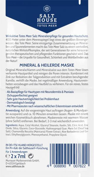Salthouse Totes Meer Therapie Maske Mineral & Heilerde
