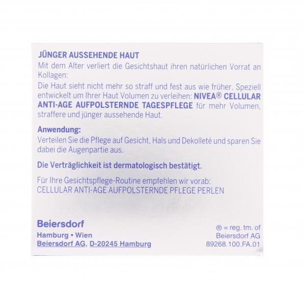 Nivea Cellular Anti-Age aufpolsternde Tagespflege LSF15