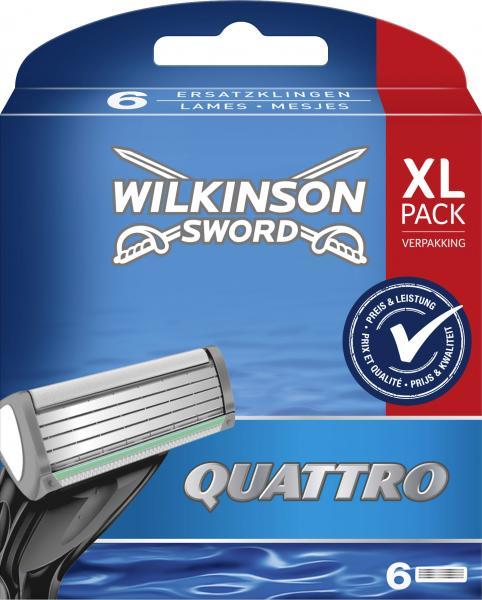 Wilkinson Sword Quattro Klingen XL Pack
