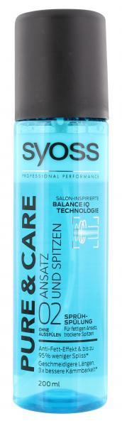 Syoss Pure & Care Sprüh Spülung