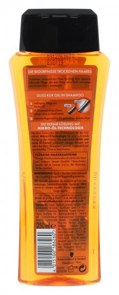 Schwarzkopf Gliss Kur Shampoo Öl-in Manoi-Öl