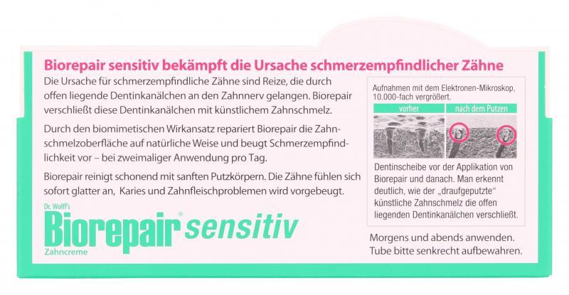 Dr. Wolff's Biorepair Zahncreme sensitiv