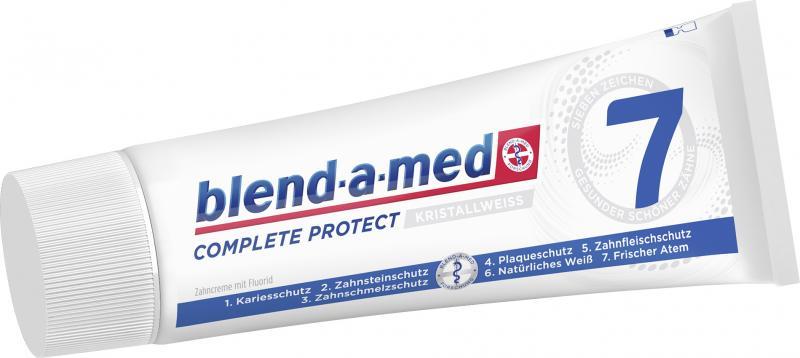 Blend-a-med Complete Protect 7 kristallweiß