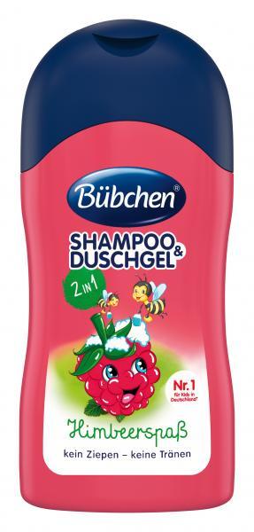 Bübchen Shampoo & Duschgel Himbeerspaß